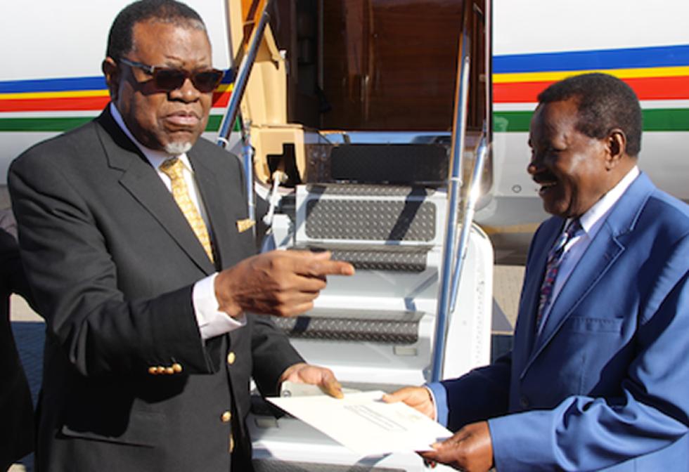 Namibia goes ahead
